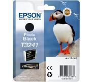 Epson T3241 Photo zwart inkt cartridge