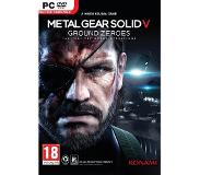 Games Konami - Metal Gear Solid V: Ground Zeroes, PC Basis PC video-game