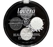 Lavera Eyeshadow beautiful mineral quattro smoky grey 01
