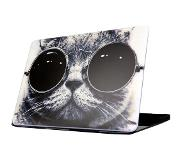 Carryme Kat met Zonnebril Hardcover Macbook Air 13-inch