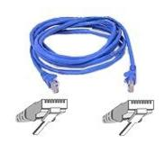 Belkin Patch cable - RJ-45(M) - RJ-45(M) - 15m - UTP ( CAT 5e ) - blue