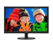 "Philips 223V5LHSB 21.5"" Full HD LCD Zwart computer monitor"