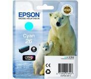 Epson Singlepack Cyan 26 Claria Premium Ink