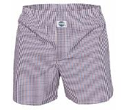Deal Boxershort check blue red, Medium (Blauw, Rood, M)