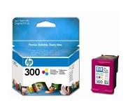 HP 300 originele drie-kleuren inktcartridge