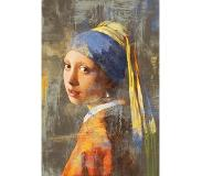 Mondiart - Vloerkleed Vermeer Girl with pe - 120 x 180