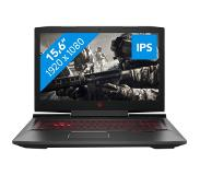 "HP OMEN 15-ce014nb 2.8GHz i7-7700HQ 15.6"" 1920 x 1080Pixels Zwart Notebook"