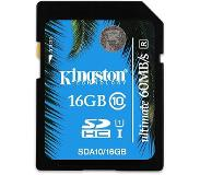 Kingston Technology SDHC/SDXC Class 10 UHS-I 16GB