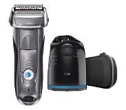 Braun Series 7 7850cc Wet&Dry Folie Trimmer Grijs