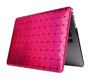 Carryme Roze Driehoek Design Hardcover Hoes Macbook Pro 13-inch Retina