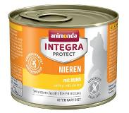 Animonda Integra Protect Adult Sensitive Blik Kattenvoer 24 x 200 g - Lam & rijst