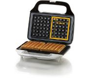 Domo DO9133W 2wafel(s) 900W Wit wafelijzer