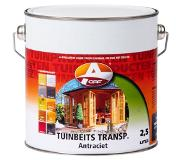 Oaf Tuinbeits Transparant White (Wit) 2,5 ltr
