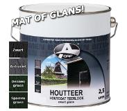 Oaf Houtteer (Houtcoat Teerlook) Mat Zwart 750 ml