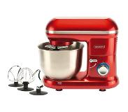 Bourgini Classic Kitchen Chef Red 1250W Staande mixer Rood