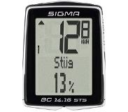 Sigma BC 23.16 STS Wireless bicycle computer Zwart