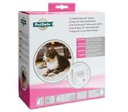 Staywell 500 Infra-red Deluxe 4 Way Locking Kattenluik Wit