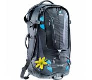 Deuter Traveller 60 + 10 SL Backpack black / turquoise backpack