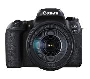 Canon EOS 77D + EF-S 18-135mm 3.5-5.6 IS USM 24.2MP CMOS 6000 x 4000Pixels Zwart