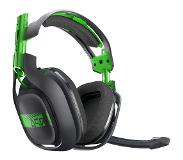 Logitech A50 Wireless Headset + Base Station Stereofonisch Hoofdband Groen, Grijs