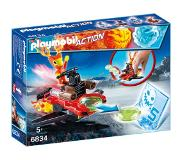 Playmobil Action Sparky met disc-shooter 6834
