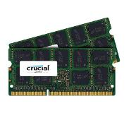 Crucial 8GB (2x4GB) DDR3 1066 MT PC3-8500 SODIMM 204pin for