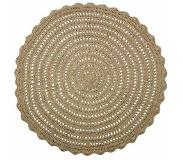 Bepurehome Vloerkleed 'Corn Circle' Naturel 150 cm