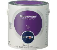 Histor Perfect Finish muurverf purper mat 2,5 liter