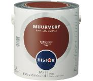 Histor Perfect Finish muurverf baskisch rood mat 2,5 liter