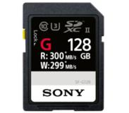 Sony SF-G UHS-II 128 GB flashgeheugen SD Klasse 10