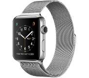 Apple Watch Series 2 42mm Stainless Steel with Silver Milanese Loop