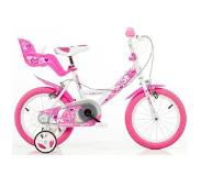 Dino Bikes Little Heart 16 inch kinderfiets Roze