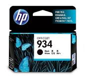 HP 934 Black Original Ink Cartridge Zwart