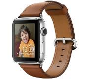 Apple Watch Series 2 42mm Stainless Steel with Brown Classic Buckle