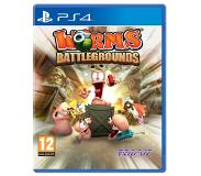 Games Strategia - Worms Battleground (Playstation 4)