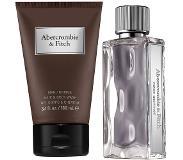 Abercrombie & Fitch FIRST INSTINCT MEN KOFFER EAU DE TOILETTE + HAIR AND BODY WASH (2 ST)