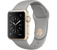 Apple Watch Series 2 38mm Gold Aluminium with Concrete Sport Band