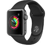 Apple Watch Series 2 38mm Grey Aluminium with Black Sport Band