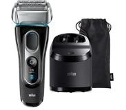 Braun 5197cc Series 5 Wet & Dry scheerapparaat + Clean & Charge station
