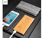 Carryme 7000 mAh 2.1A Houten Powerbank