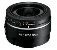sony 50F18 Objectif pour appareil photo numérique de type A