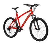 B'twin MOUNTAINBIKE Rockrider 340 oranje - L : 1M75-1M80