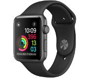 Apple Watch Series 2 42mm Grey Aluminium with Black Sport Band