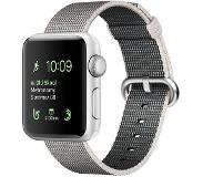 Apple Watch Series 2 38mm Silver Aluminium with Woven Nylon Band