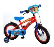 E&L Cycles Yipeeh PAW Patrol jongensfiets - 14 inch - rood/blauw