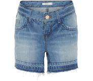 Name it regular fit gerafelde zoom Denim short