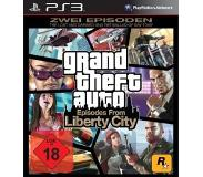 Ajopeli Cenega - Grand Theft Auto: Episodes from Liberty City, PS3