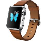 Apple Watch 38mm with Saddle Brown Classic Buckle