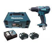 Makita DDF456RMJ Boormachine met pistoolgreep Lithium-Ion (Li-Ion) 4Ah 1500g accu boor-schroef machine