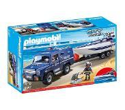 Playmobil 5187 Politieterreinwagen met speedboot